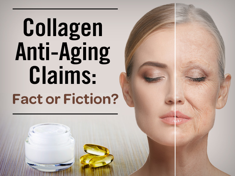 collagen supplement anti-aging claims