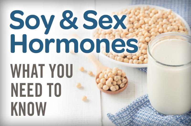 Soy & sex hormones what you need to know soynuts and glass of soy milk