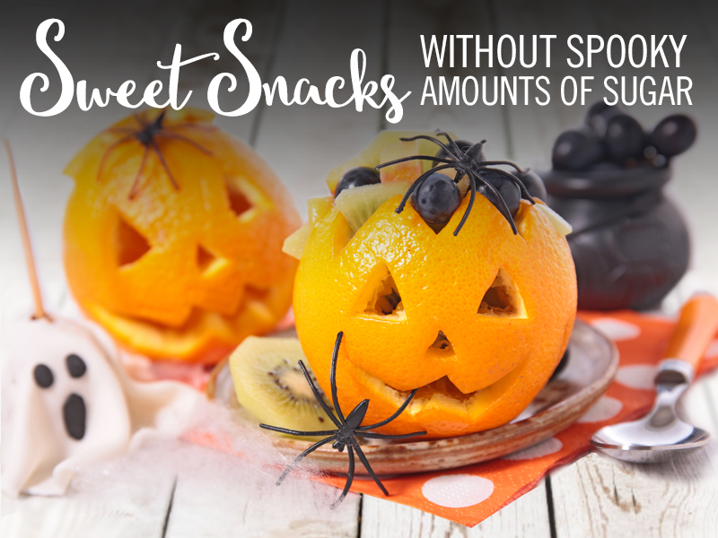 sweet snacks without spooky amounts of sugar orange jackolanterns