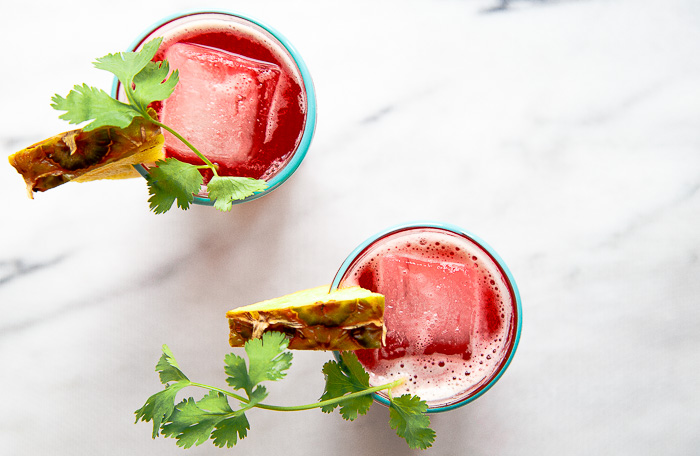 Pineapple Hibiscus Mocktail