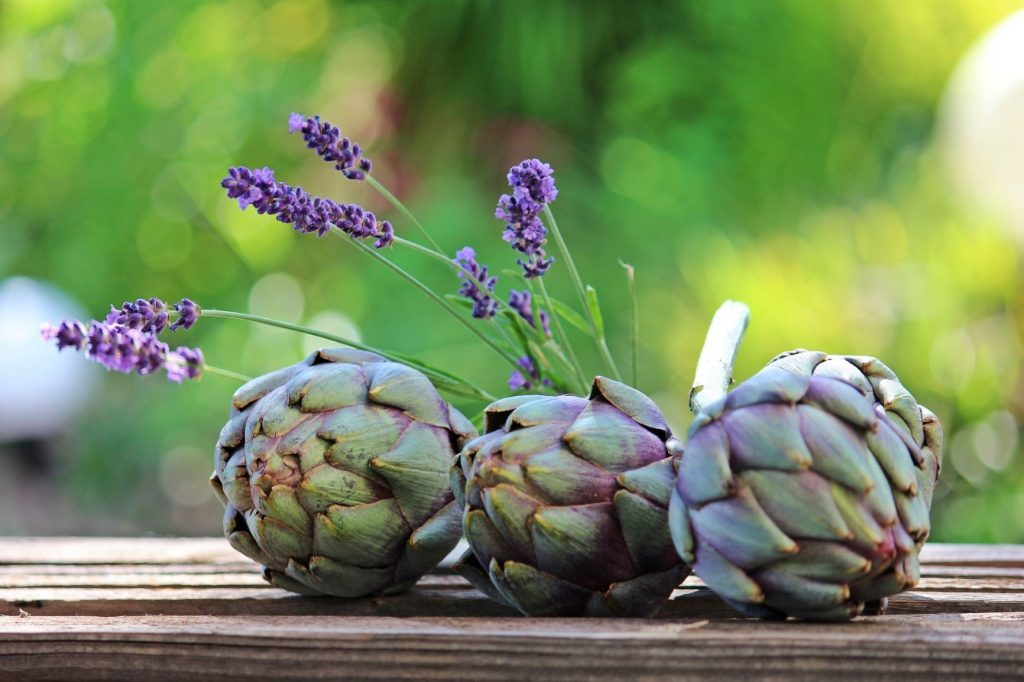 artichokes high fiber snack topping