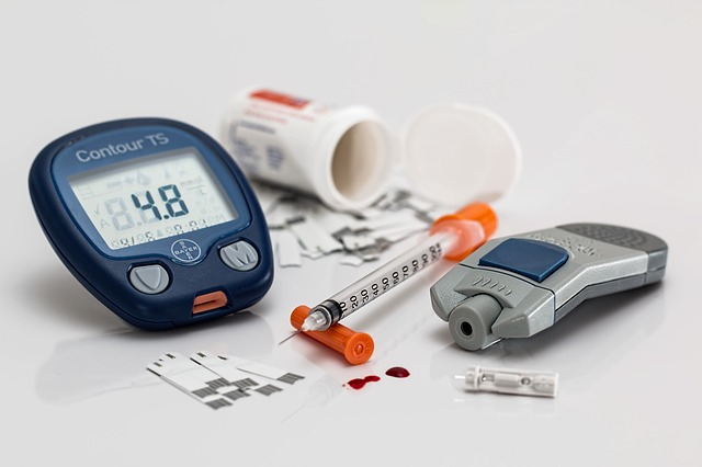 diabetes management insulin injection blood sugar