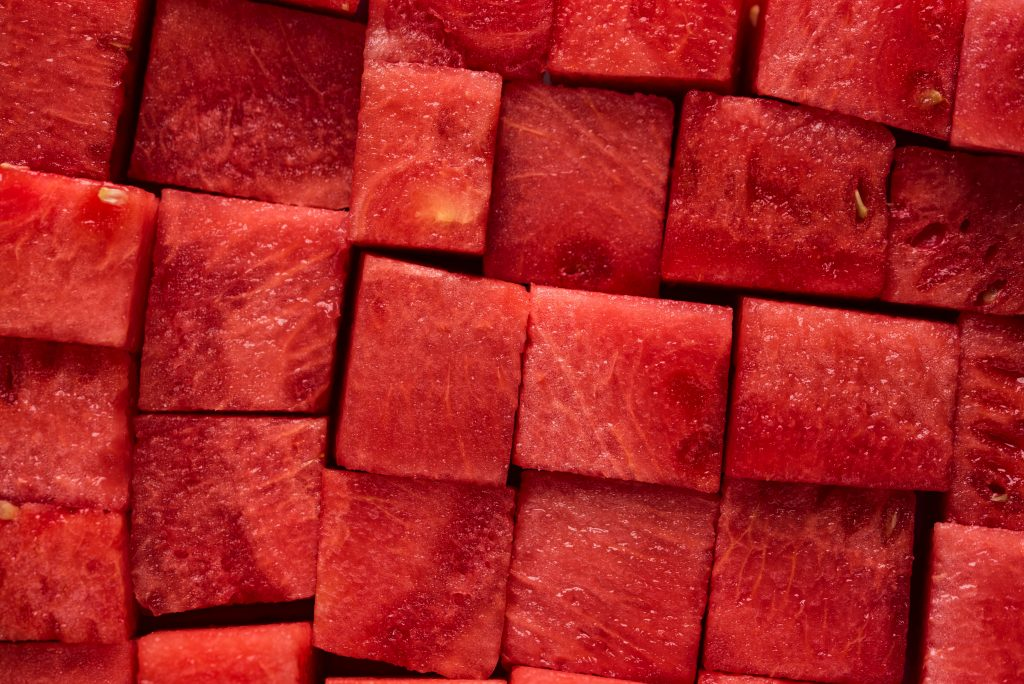 ripeness of fruits affects insulin response watermelon slices