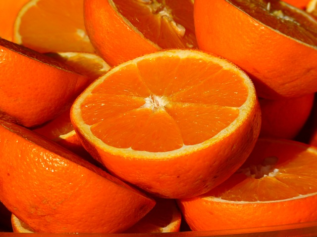 citrus fruits contain vitamin c as supplement for immune health