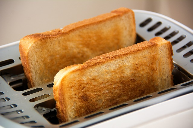 avoid simple carbs and high sugar foods, white toast in toaster